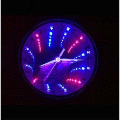 Free-shipping-Wholesale-10pcs-creative-cute-time-tunnel-clock-Add-visual-effect-Stereo-clock-wall-clock.jpg