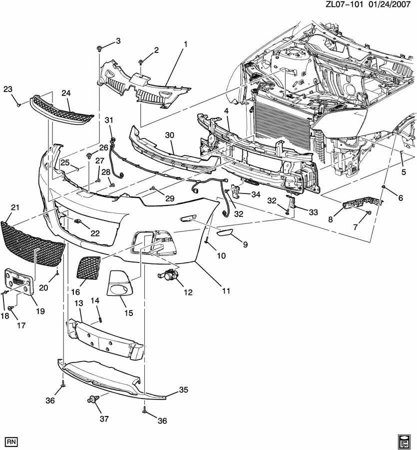 Позиция №11 - панель переднего